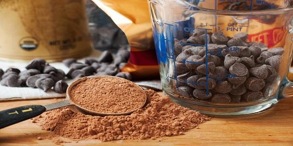 فروش عمده پودر کاکائو برای تولید شکلات