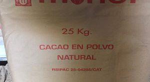 فروش عمده پودر کاکائو نچرال اسپانیا